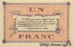1 Franc FRANCE régionalisme et divers LONS-LE-SAUNIER 1918 JP.074.05 TTB à SUP