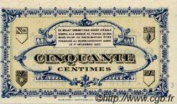 50 Centimes FRANCE régionalisme et divers LONS-LE-SAUNIER 1918 JP.074.09 SPL à NEUF