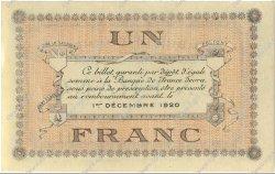 1 Franc FRANCE régionalisme et divers LONS-LE-SAUNIER 1920 JP.074.10 SPL à NEUF