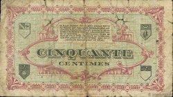 50 Centimes FRANCE régionalisme et divers LONS-LE-SAUNIER 1918 JP.074.11 TB