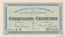 50 Centimes FRANCE régionalisme et divers Lons-Le-Saunier 1918 JP.074.17 SPL à NEUF