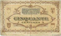 50 Centimes FRANCE régionalisme et divers LONS-LE-SAUNIER 1918 JP.074.17 TB