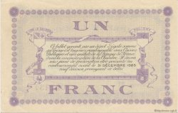 1 Franc FRANCE régionalisme et divers LONS-LE-SAUNIER 1918 JP.074.18 SPL à NEUF
