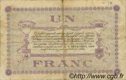 1 Franc FRANCE régionalisme et divers LONS-LE-SAUNIER 1918 JP.074.18 TB