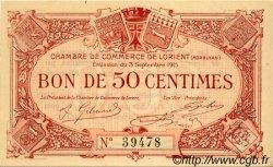 50 Centimes FRANCE régionalisme et divers LORIENT 1915 JP.075.01 SPL à NEUF