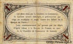 1 Franc FRANCE régionalisme et divers Lorient 1915 JP.075.02 TTB à SUP