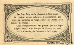 2 Francs FRANCE régionalisme et divers Lorient 1915 JP.075.03 SPL à NEUF