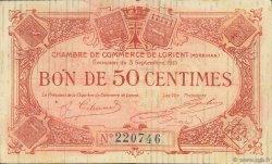 50 Centimes FRANCE régionalisme et divers Lorient 1915 JP.075.04 TB