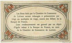50 Centimes FRANCE régionalisme et divers Lorient 1915 JP.075.05 SPL à NEUF
