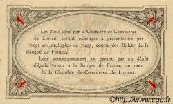 1 Franc FRANCE régionalisme et divers LORIENT 1915 JP.075.08 SPL à NEUF