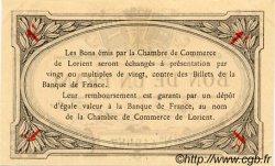 1 Franc FRANCE régionalisme et divers Lorient 1915 JP.075.08 TTB à SUP