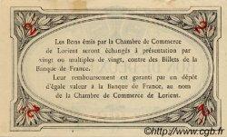 2 Francs FRANCE régionalisme et divers Lorient 1915 JP.075.11 TTB à SUP