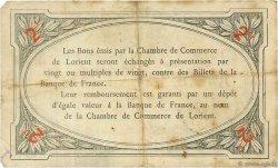 2 Francs FRANCE régionalisme et divers LORIENT 1915 JP.075.11 TB
