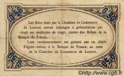 50 Centimes FRANCE régionalisme et divers Lorient 1915 JP.075.14 TTB à SUP