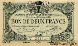 2 Francs FRANCE régionalisme et divers LORIENT 1915 JP.075.16 SPL à NEUF