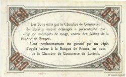 50 Centimes FRANCE régionalisme et divers Lorient 1915 JP.075.17 SPL à NEUF