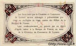 50 Centimes FRANCE régionalisme et divers LORIENT 1915 JP.075.17 TTB à SUP
