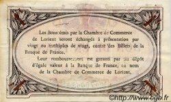1 Franc FRANCE régionalisme et divers LORIENT 1915 JP.075.18 TTB à SUP