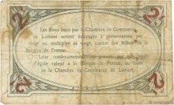 2 Francs FRANCE régionalisme et divers LORIENT 1915 JP.075.19 TB