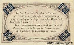 50 Centimes FRANCE régionalisme et divers Lorient 1915 JP.075.20 SPL à NEUF