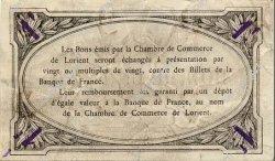 1 Franc FRANCE régionalisme et divers Lorient 1915 JP.075.21 TTB à SUP
