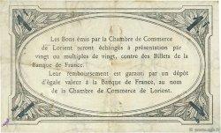 1 Franc FRANCE régionalisme et divers LORIENT 1915 JP.075.21 TB