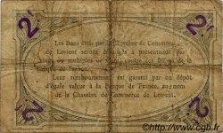 2 Francs FRANCE régionalisme et divers LORIENT 1915 JP.075.22 TB
