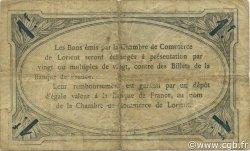 1 Franc FRANCE régionalisme et divers Lorient 1915 JP.075.24 TB