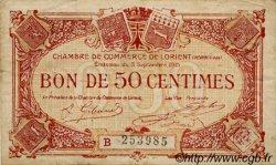 50 Centimes FRANCE régionalisme et divers Lorient 1915 JP.075.26 TB