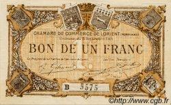 1 Franc FRANCE régionalisme et divers LORIENT 1915 JP.075.27 SPL à NEUF