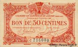 50 Centimes FRANCE régionalisme et divers Lorient 1919 JP.075.29 TTB à SUP