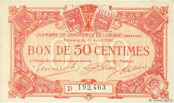 50 Centimes FRANCE régionalisme et divers Lorient 1920 JP.075.32 SPL à NEUF