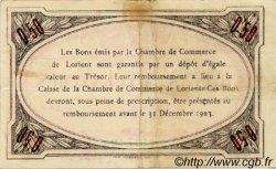 50 Centimes FRANCE régionalisme et divers Lorient 1920 JP.075.32 TTB à SUP
