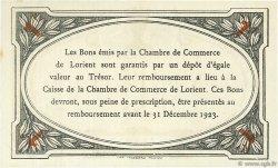 1 Franc FRANCE régionalisme et divers Lorient 1920 JP.075.33 SPL à NEUF
