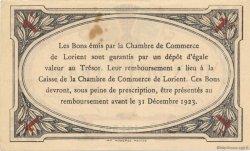 1 Franc FRANCE régionalisme et divers LORIENT 1920 JP.075.33 TTB à SUP