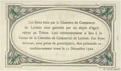 1 Franc FRANCE régionalisme et divers LORIENT 1920 JP.075.36 SPL à NEUF