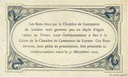 2 Francs FRANCE régionalisme et divers Lorient 1921 JP.075.40 TTB à SUP
