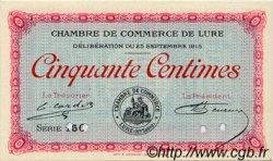 50 Centimes FRANCE régionalisme et divers LURE 1915 JP.076.05 SPL à NEUF