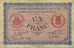1 Franc FRANCE régionalisme et divers LURE 1915 JP.076.16 TB