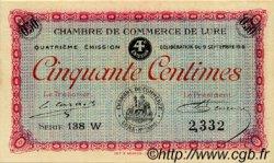 50 Centimes FRANCE régionalisme et divers Lure 1918 JP.076.24 SPL à NEUF