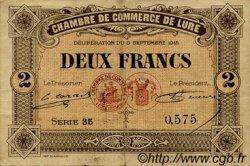 2 Francs FRANCE régionalisme et divers Lure 1918 JP.076.30 TB