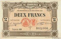 2 Francs FRANCE régionalisme et divers LURE 1920 JP.076.39 SPL à NEUF