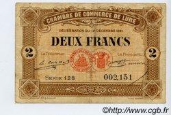 2 Francs FRANCE régionalisme et divers LURE 1921 JP.076.45 TB