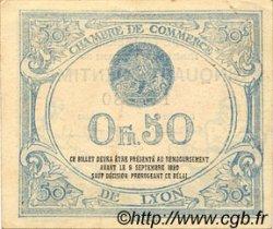 50 Centimes FRANCE régionalisme et divers Lyon 1915 JP.077.03 TTB à SUP