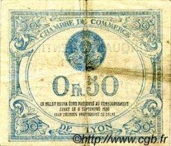 50 Centimes FRANCE régionalisme et divers Lyon 1915 JP.077.03 TB
