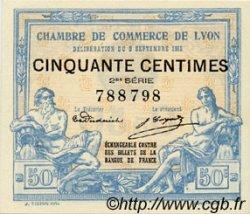 50 Centimes FRANCE régionalisme et divers Lyon 1915 JP.077.04 SPL à NEUF