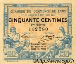 50 Centimes FRANCE régionalisme et divers LYON 1915 JP.077.05 TTB à SUP