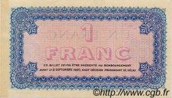 1 Franc FRANCE régionalisme et divers Lyon 1915 JP.077.06 TTB à SUP