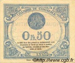50 Centimes FRANCE régionalisme et divers Lyon 1918 JP.077.16 TTB à SUP
