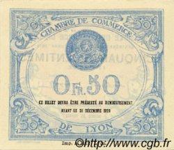 50 Centimes FRANCE régionalisme et divers Lyon 1919 JP.077.18 SPL à NEUF